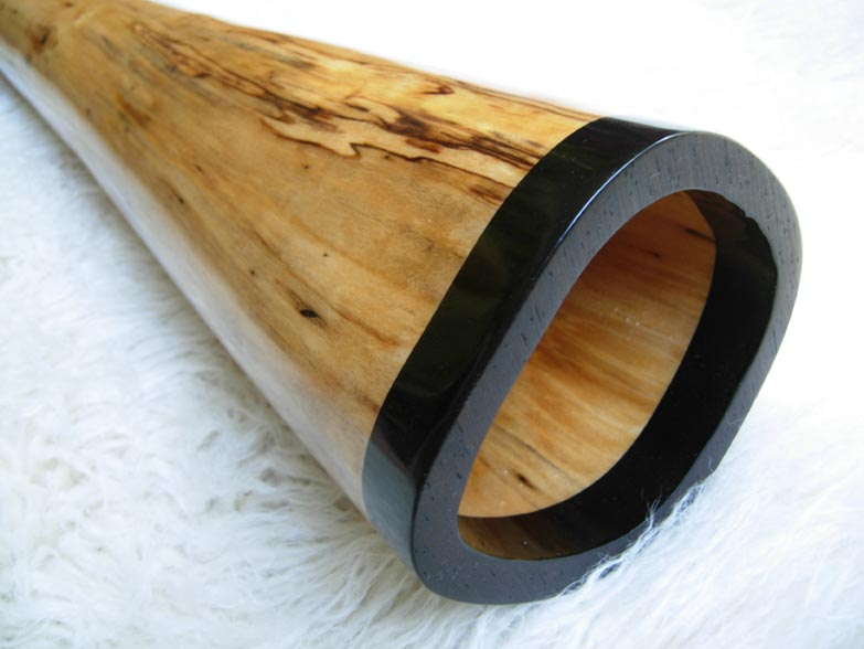 spalted birch didgeridoo