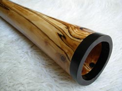 wood didgeridoo