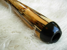 wood didgeridoo mouthpiece